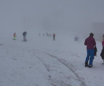 Uludağ'da kar kalınlığı 123 santime çıktı