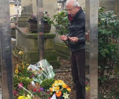 AK Parti'li vekil Yılmaz Güney ile Ahmet Kaya'nın mezarını ziyaret etti