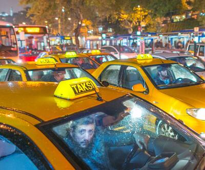 Taksilere yeni dönem: Üç ayrı renkte tepe lambası geliyor