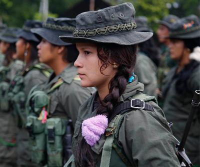 Kolombiya'da FARC'dan pusu eylemi