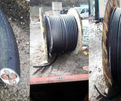 Devlet kurumu inşaatlarından malzeme çalan çete yakalandı
