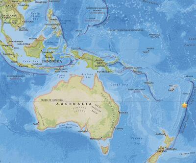 Pasifik'te deprem