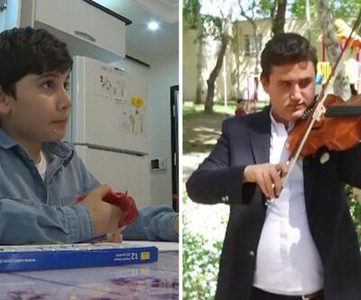 Türkiye'nin özel çocuklarından Emre Hasan Metin ve Taylan Hartavi