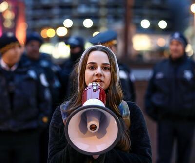 ABD'de protesto: Beyaz Saray kapansın
