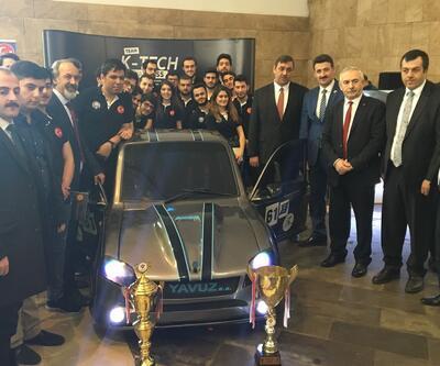 Karadeniz Teknik Üniversitesi'nden hibrit araç: Yavuz SS