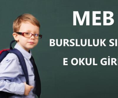 Bursluluk sınavı başvuruları (İOKBS)   MEB E Okul giriş sayfası