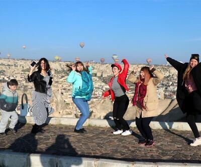Kapadokyalı turizmcilerin yüzü gülüyor