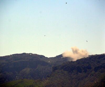 Savaş uçakları bombalıyor!