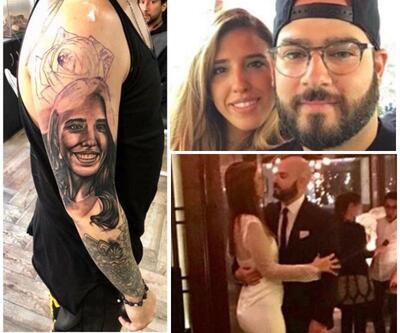 Jet kazasında ölen Aslı İzmirli'nin fotoğrafını dövme yaptırdı