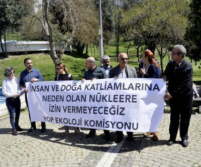 HDP'lilerden Akkuyu Nükleer Santrali protestosu