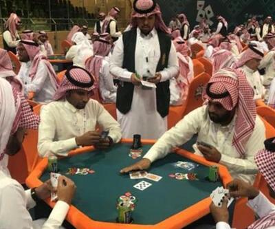 İskambil turnuvası Suudi Arabistan'ı karıştırdı
