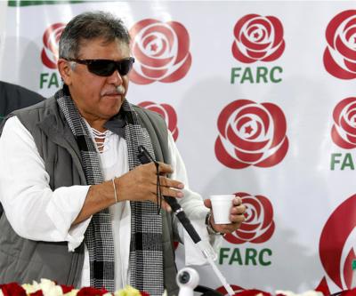 FARC'ın eski lider uyuşturucu nedeniyle gözaltında