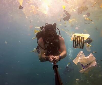 Bali sahili plastik atıklarla çöp ada haline geldi