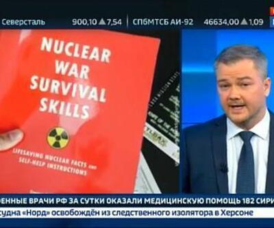 Rusya'da savaşa hazırlık yayını yapıldı