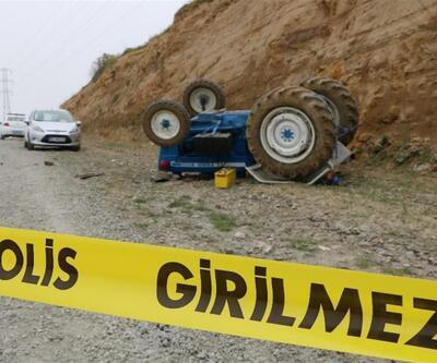 Traktörün altında kalan kadın sürücü öldü