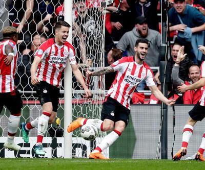 PSV - Ajax: 3-0 (Maç Özeti)