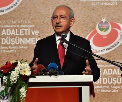 Kılıçdaroğlu'ndan Milli Eğitim Bakanlığı'na 'millilik' eleştirisi