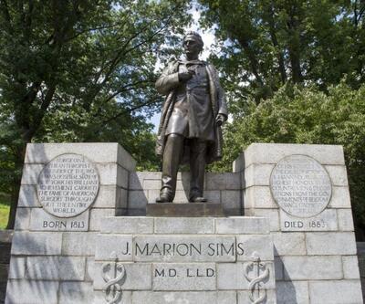 ABD'de köleler üzerinde deney yapan doktorun heykeli kaldırıldı