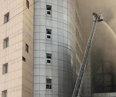 Hastanedeki yangının nedeni belli oldu