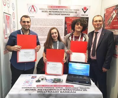 Anabilim Anadolu Lisesi öğrencileri TÜBİTAK'ta Türkiye 2.'si