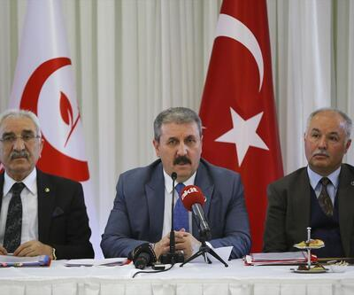 BBP Genel Başkanı Mustafa Destici'den 'seçim yardımı' teklifi