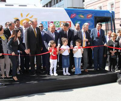 'Steam Otobüsü' Ümraniye'de hizmete açıldı