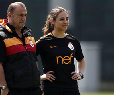Galatasaray antrenmanında ilk kez yer aldı