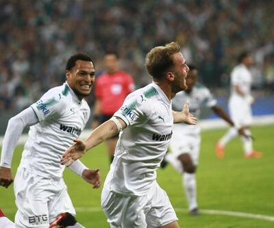 Stres dolu 7 uzatma dakikası / Bursaspor 2-1 Konyaspor maç özeti