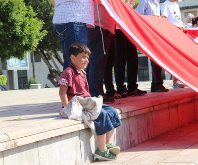 1 Mayıs kutlamalarının en acı fotoğrafı