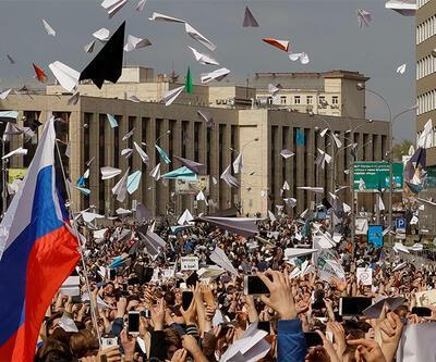 Rusya'da Telegram protestosu