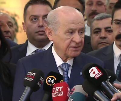 Bahçeli'den 4 partinin yaptığı ittifak için ilk yorum