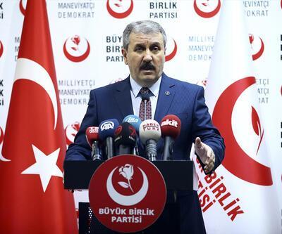BBP Genel Başkanı Mustafa Destici, Gezi'yi 15 Temmuz'a benzetti