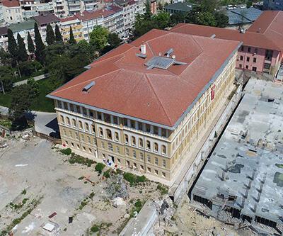 150 yıllık tarihi lise binası restorasyondan sonra kapılarını ilk kez açtı