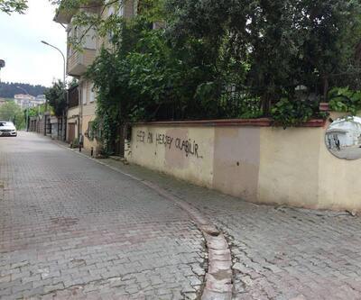 Meral Akşener'in evinin karşısındaki duvara tehdit yazısı: 'Her an her şey olabilir'