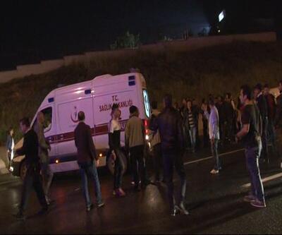 Son dakika... İstanbul'da trafik kazası: Yaralılar var