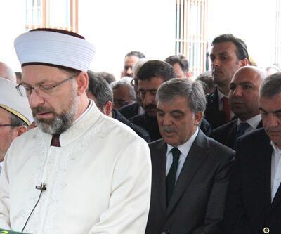 Cenazede Abdullah Gül'e tepki