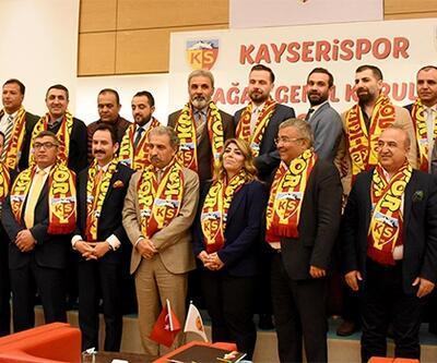 Erol Bedir yeniden Kayserispor Başkanı seçlidi