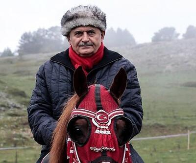Başbakan Yıldırım at bindi