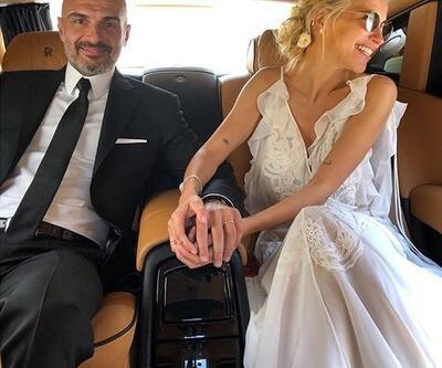 Burcu Esmersoy evlendi, fotoğraflarını hayranlarıyla paylaştı
