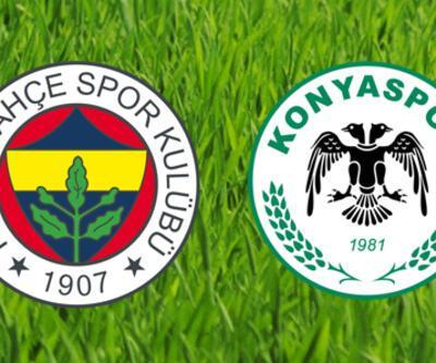 Fenerbahçe - Konyaspor maçı muhtemel 11'leri