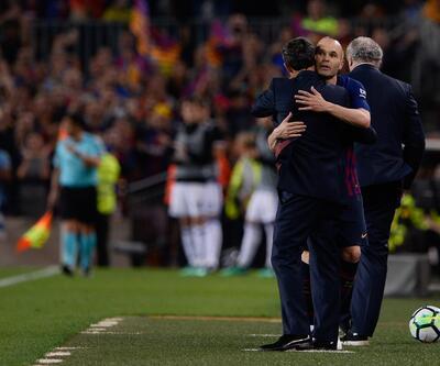 Barcelonalı efsane takımına böyle veda etti