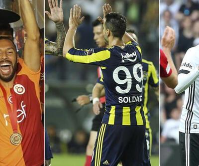 Ayrılacak futbolcular belli oldu... Fenerbahçe, Beşiktaş, Galatasaray ve Trabzonspor'da deprem