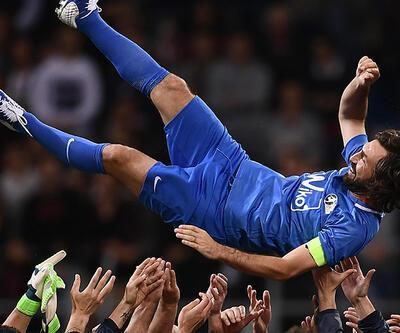 Andrea Pirlo futbolu bıraktı
