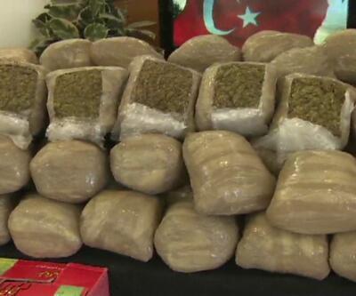 İstanbul'da Hırvat polisinin aracın 310 kilo 'skank' yakalandı