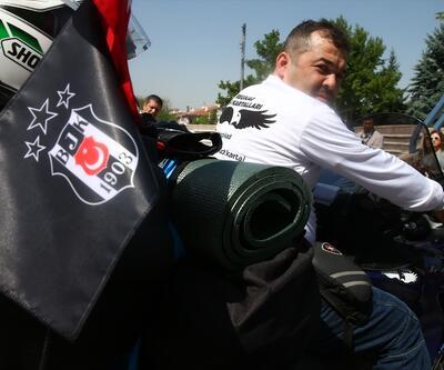 Beşiktaşlı iş adamlarının 8 bin kilometrelik yolculuğu Anıtkabir'den başladı