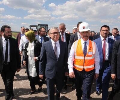 Bakan Arslan'dan Niğde'ye havalimanı ve hızlı tren müjdesi