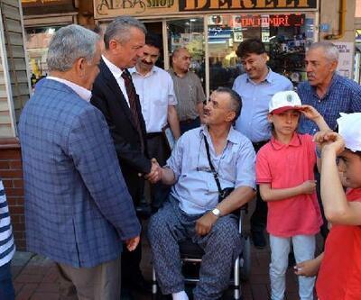 Topladıkları kapaklarla kahraman madenciye tekerlekli sandalye aldılar