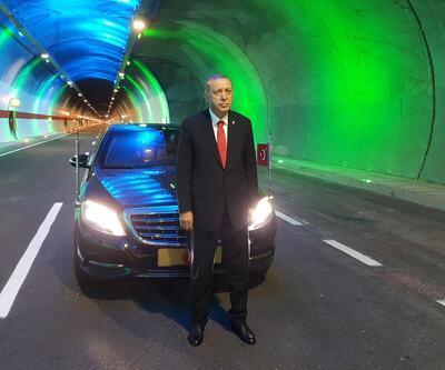 Cumhurbaşkanı Erdoğan, Ovit Tüneli'ni açtı; 138 yıllık hayal gerçek oldu