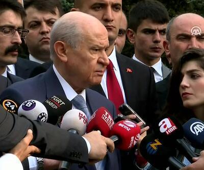 Devlet Bahçeli'den Suruç açıklaması