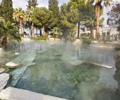 Pamukkale antik havuzda boğulan turist kurtarılamadı